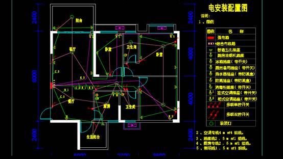 电气安装住宅建筑电气图纸