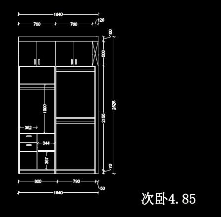 CAD家具制图实例