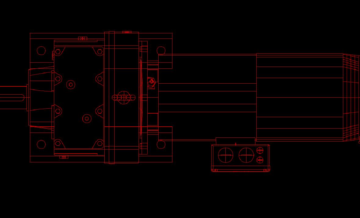 某工厂生产零部件的CAD机械设计图纸