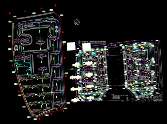 办公楼CAD规划图-蚌埠淮上司法拍卖地块图