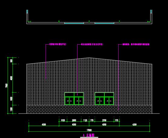大英育秧工厂的结构设计CAD图纸