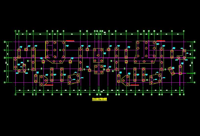 桩号的结构设计CAD 图纸