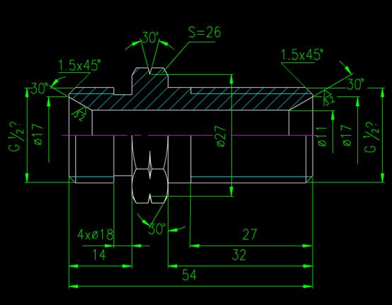 CAD机械图纸
