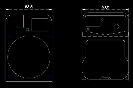 CAD机械尺寸图