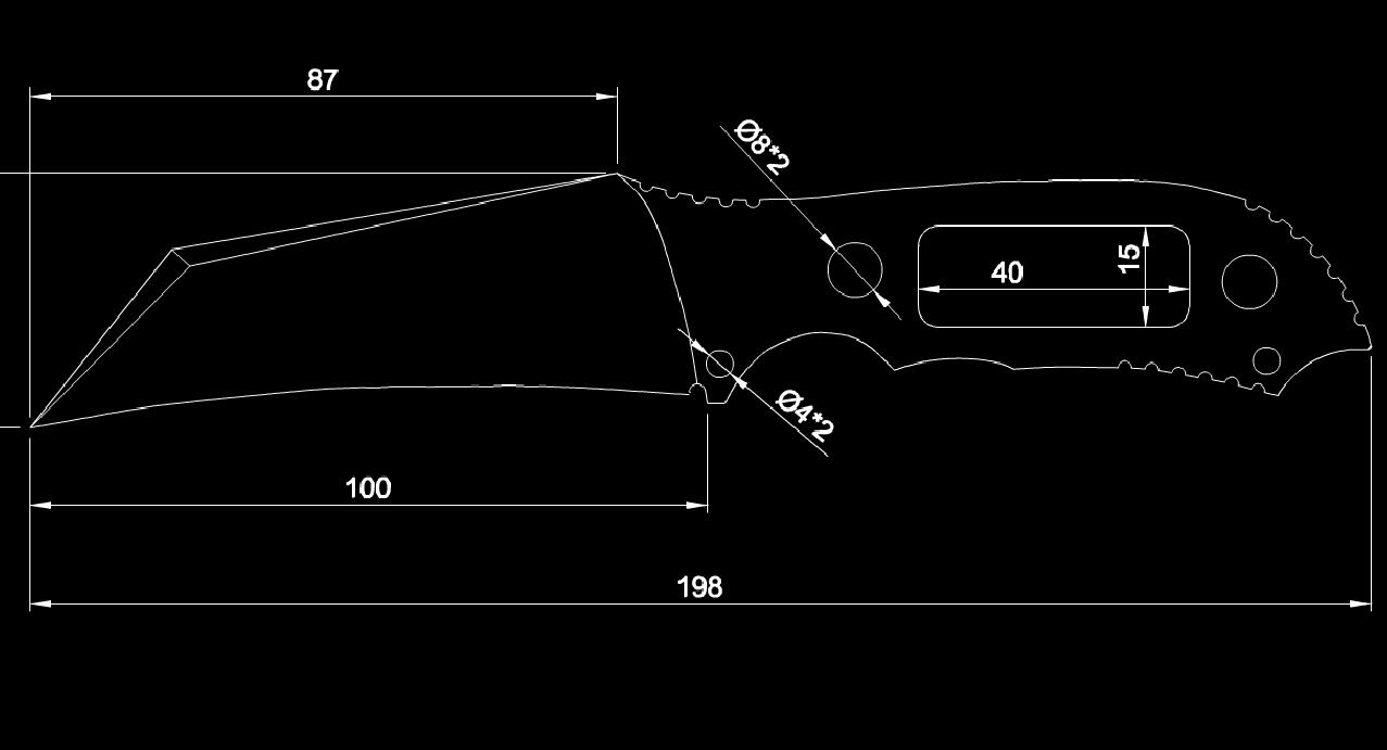 五金件的CAD图终稿