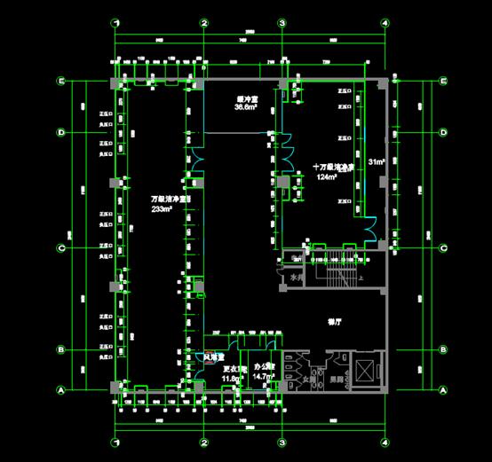 调试工位的方案设计CAD图纸