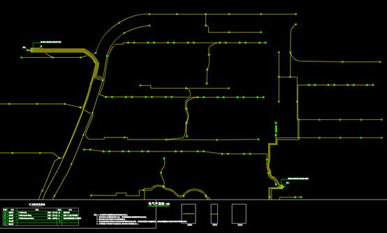 CAD建筑电气平面图