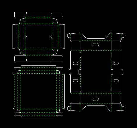 CAD模具图纸设计图之打印机