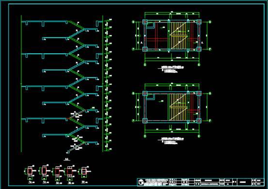 CAD结构设计图之配筋设计