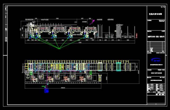 CAD设计方案图纸之五版印刷集气罩改造方案图