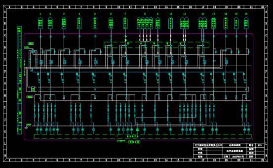 CAD设计方案图纸之精处理汽水取样系统