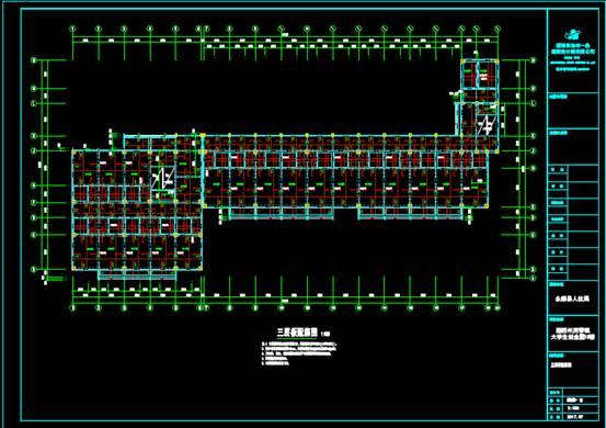 CAD结构设计图之创业园设计