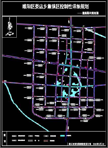 道路设计CAD图纸之施工图