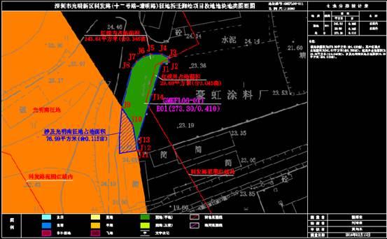 建筑设计CAD图纸之土地使用