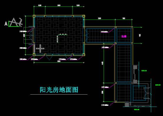 CAD商业空间设计图之茶室设计