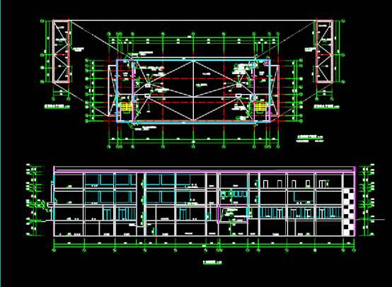 博乐宾馆酒店建筑CAD图纸