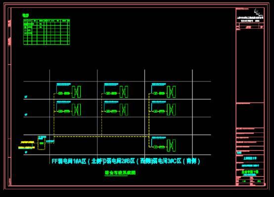 文教建筑电气图之生命Y楼免疫化学研究所光缆系统图