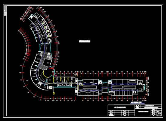 CAD电力控制布置图之科技园智能化系统工程
