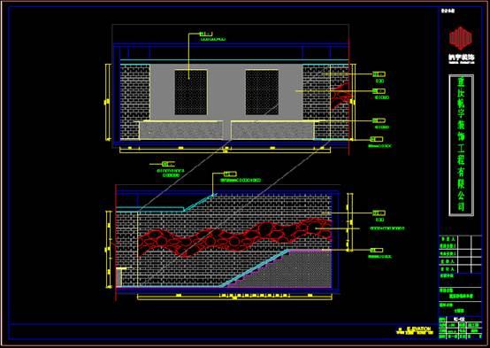 某店铺的装饰设计CAD施工图