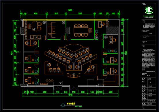 某标志建筑的装饰设计CAD施工图