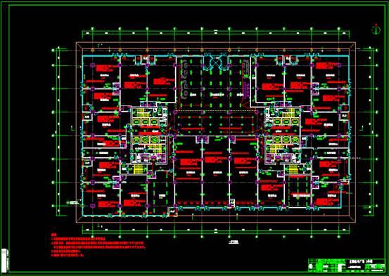 CAD电力控制布置图之照明布置