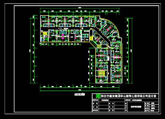 商务宾馆酒店建筑CAD图纸