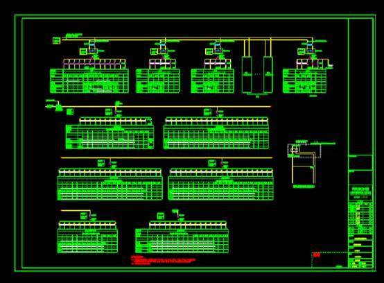 电气配电平面图及公共部位配电系统图