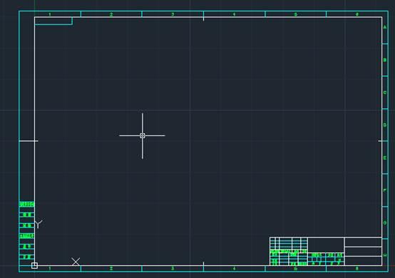 CAD教程之CAD图框如何新建