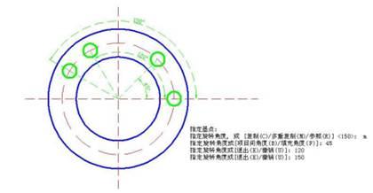 CAD绘图软件中CAD旋转图形的使用