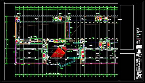 美术馆建筑设计CAD施工图