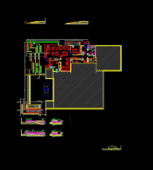 图书馆CAD商业空间设计图