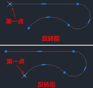 CAD教程之CAD软件绘制图纸时使用反转功能