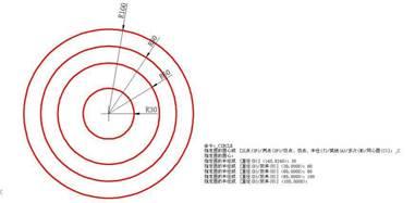 CAD制图初学入门之CAD软件绘制圆