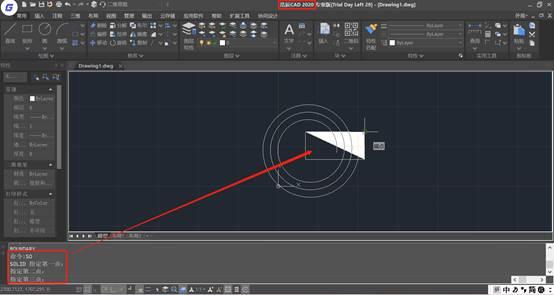 CAD制图初学入门之CAD实体填充边界