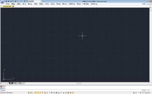 CAD教程之CAD软件操作界面设置功能区