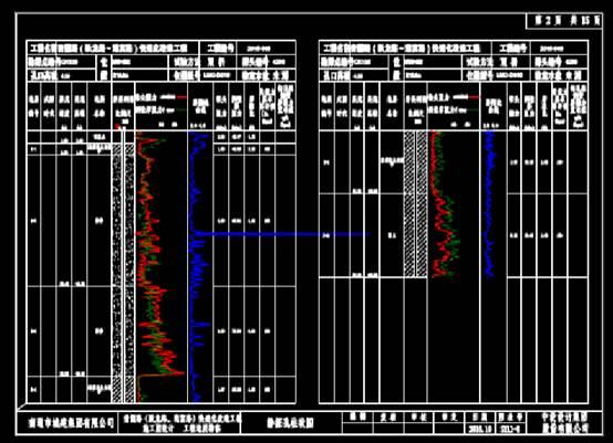 静探柱状设计方案CAD图纸