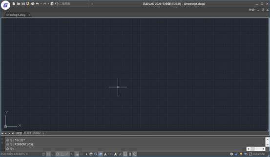 CAD软件操作界面设置二维草图命令面板
