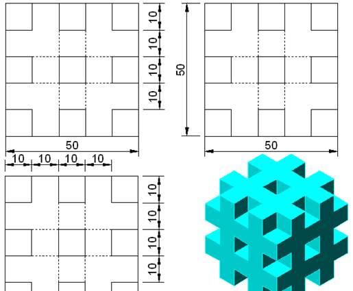 CAD软件绘制三维阵列的简单说明