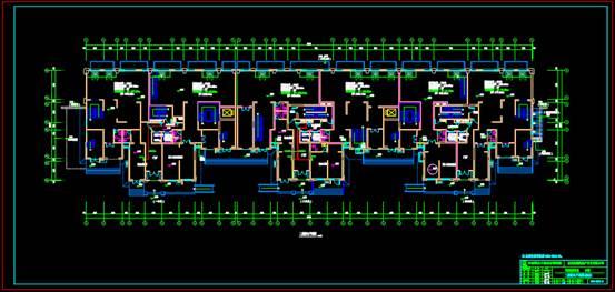某楼房的CAD住宅建筑电气图纸