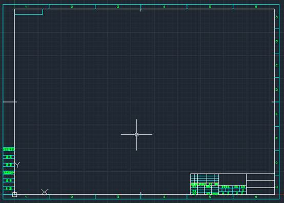 CAD绘图软件中的CAD图框如何新建