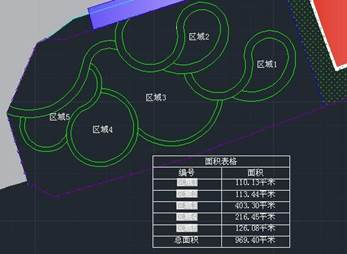 CAD教程之CAD软件绘制面积表格