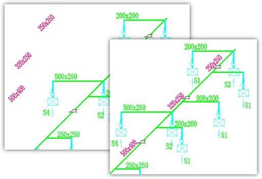 CAD怎么进行文字对齐之两点对齐