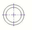 CAD教程之CAD中心线八