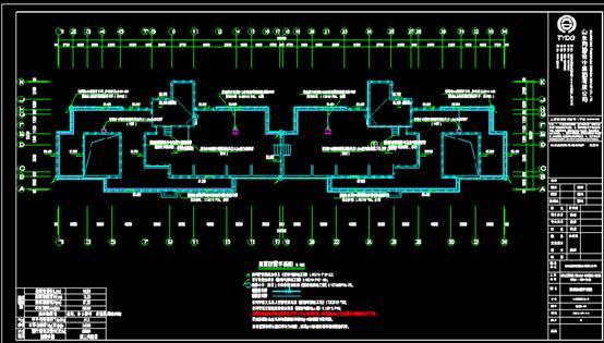 CAD住宅建筑电气图纸平面设计