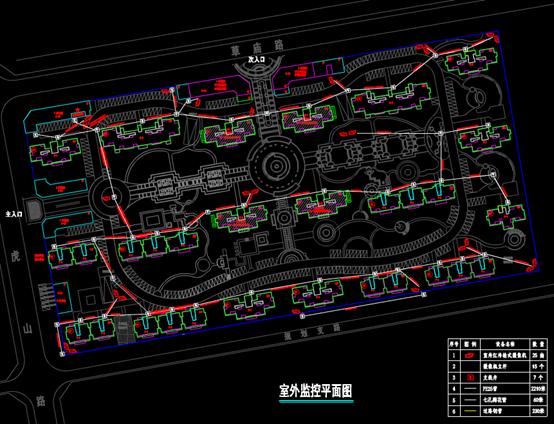 CAD住宅建筑电气图纸