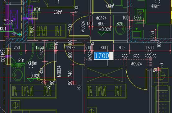 国产CAD建筑CAD动态输入功能介绍