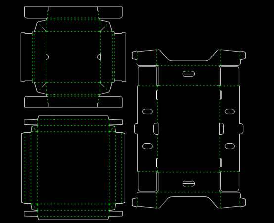 CAD图纸设计之MG模具