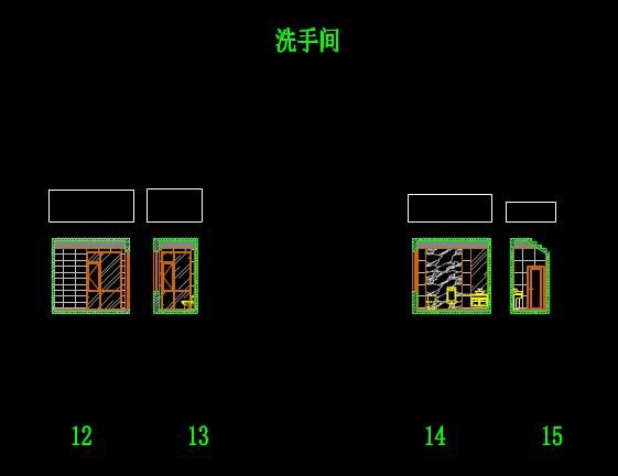 CAD室内设计方案之立面图