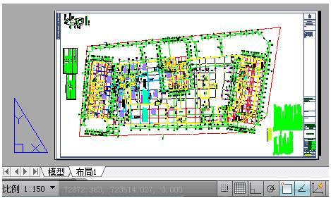国产CAD建筑状态栏介绍