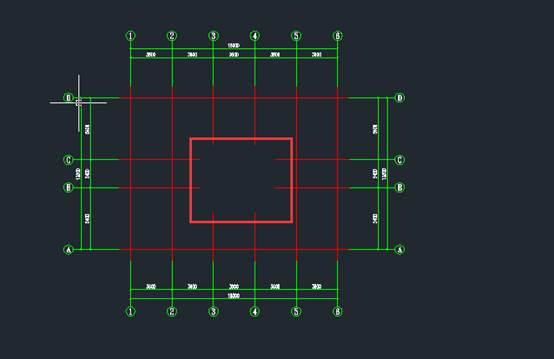 CAD轴线裁剪制图教程